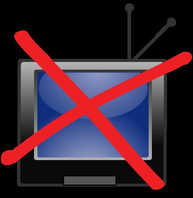 Hace años que desterré la televisión. Tenía una tele linda, planita, de  32u0027, moderna, control remoto anatómico, y cable. La idea era ver el fútbol,  PlusPng.com  - Ver La Tele PNG