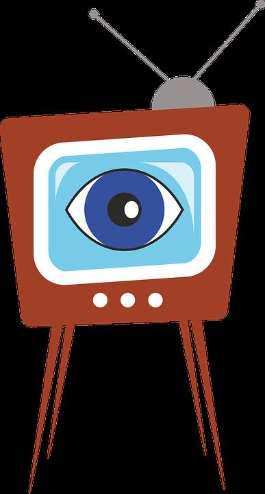 Viendo La Televisión, Ver, Televisión, Tv, Tele - Ver La Tele PNG