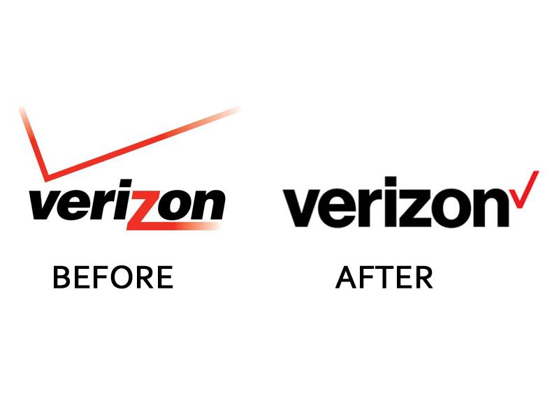 Verizon Logo Change - Verizon 2015 Logo Vector PNG