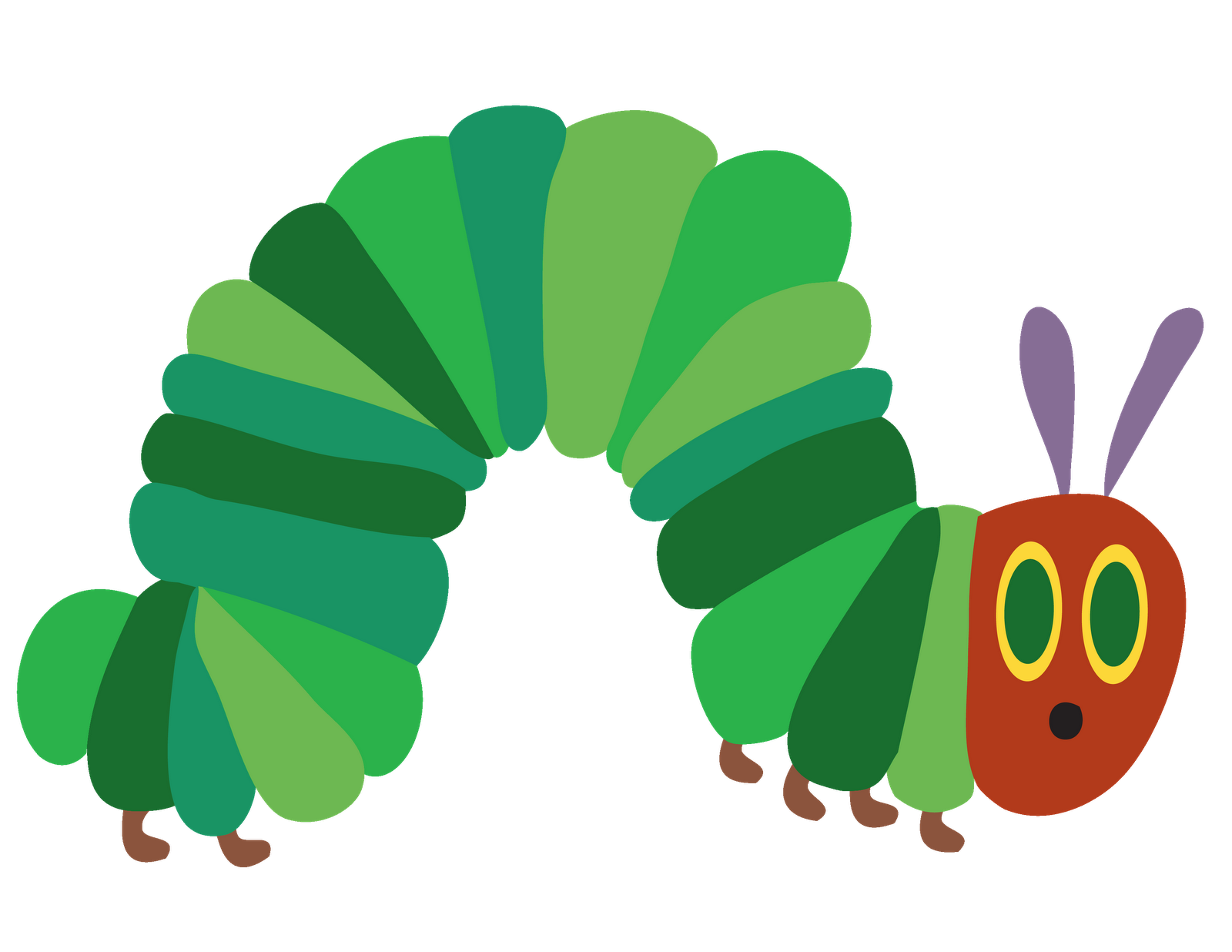 Very Hungry Caterpillar PNG