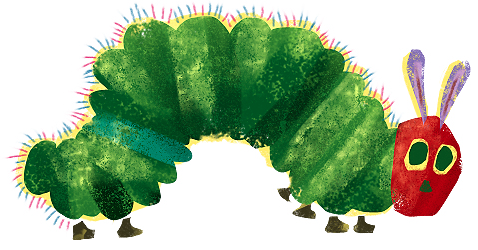 Very Hungry Caterpillar PNG - 56398