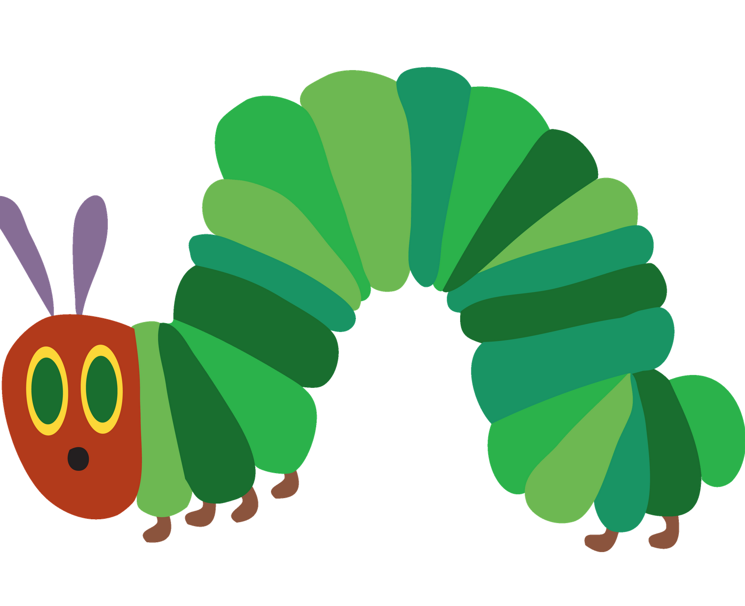 Very Hungry Caterpillar PNG - 56405