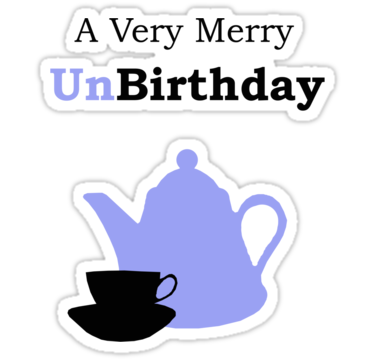 Sizing Information - Very Merry Unbirthday PNG