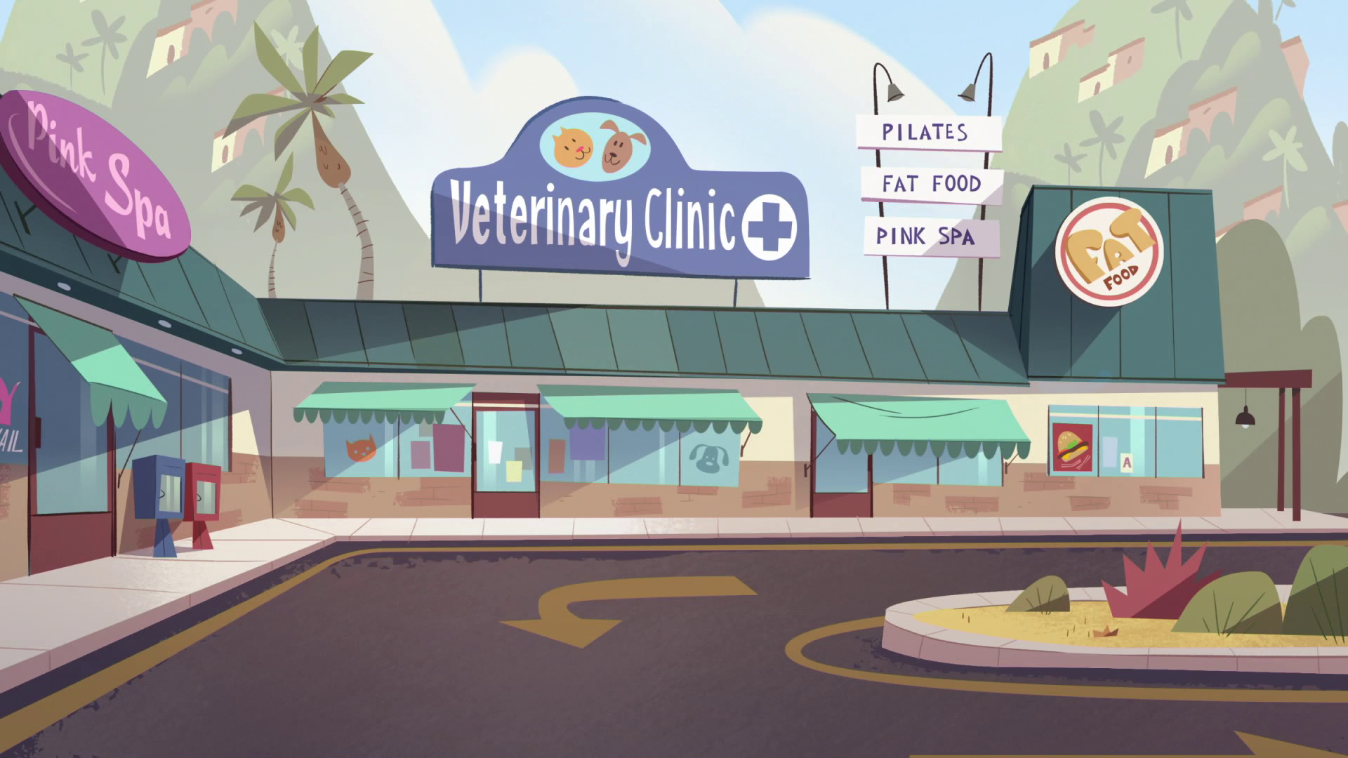 Image - S2E39 Exterior shot of veterinary clinic.png | Star vs. the Forces  of Evil Wiki | FANDOM powered by Wikia - Vet Clinic PNG