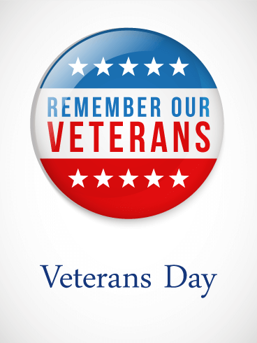 Remember Our Veterans Day Card - Veter Ans Day PNG