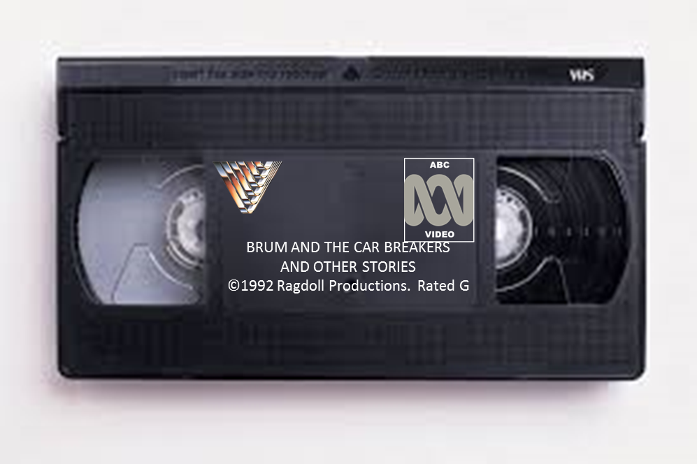 Image - Brum And The Car Breakers VHS.png | Brum Wiki | FANDOM powered by  Wikia - Vhs PNG