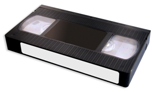 A VHS Cassette - Vhs Tape PNG