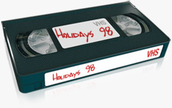 Download this image as: - Vhs Tape PNG