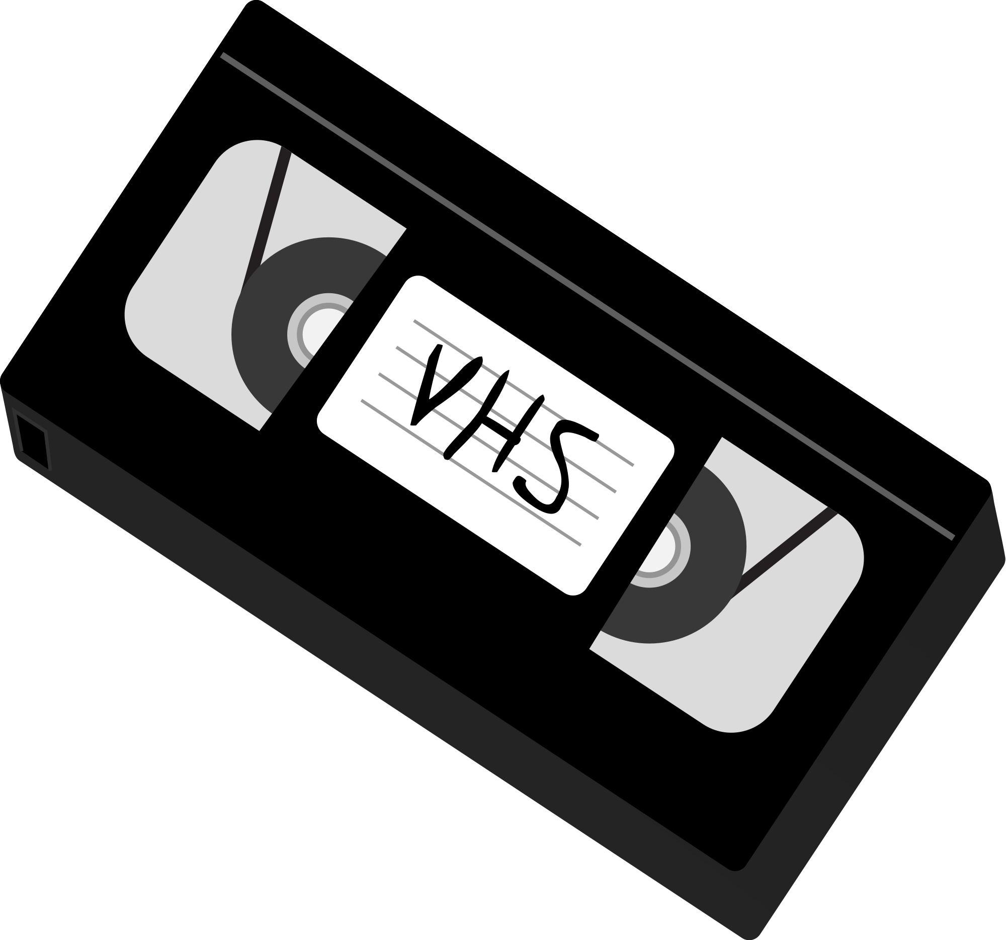 Open PlusPng.com  - Vhs Tape PNG