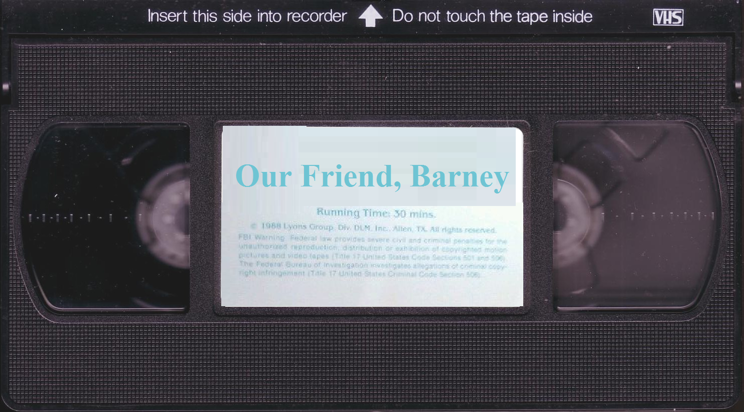 Vhs Tape PNG - 54654