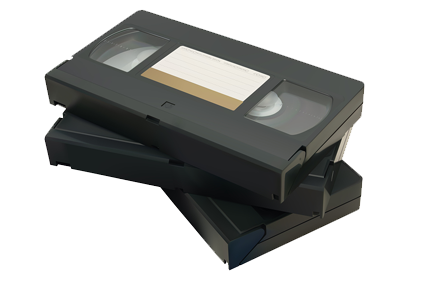 The average useful life of a VHS tape is about 25 to 30 years if stored  properly. Smaller format videotapes such as Hi 8, Digital 8, MiniDV and  others have PlusPng.com  - Vhs Tape PNG
