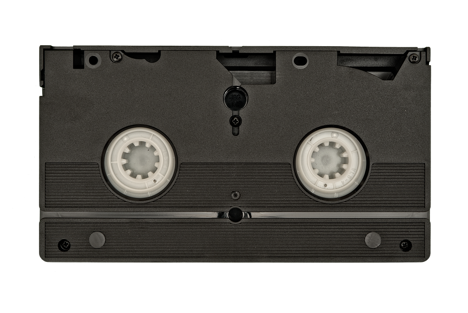 vhs tape back old information white background - Vhs Tape PNG