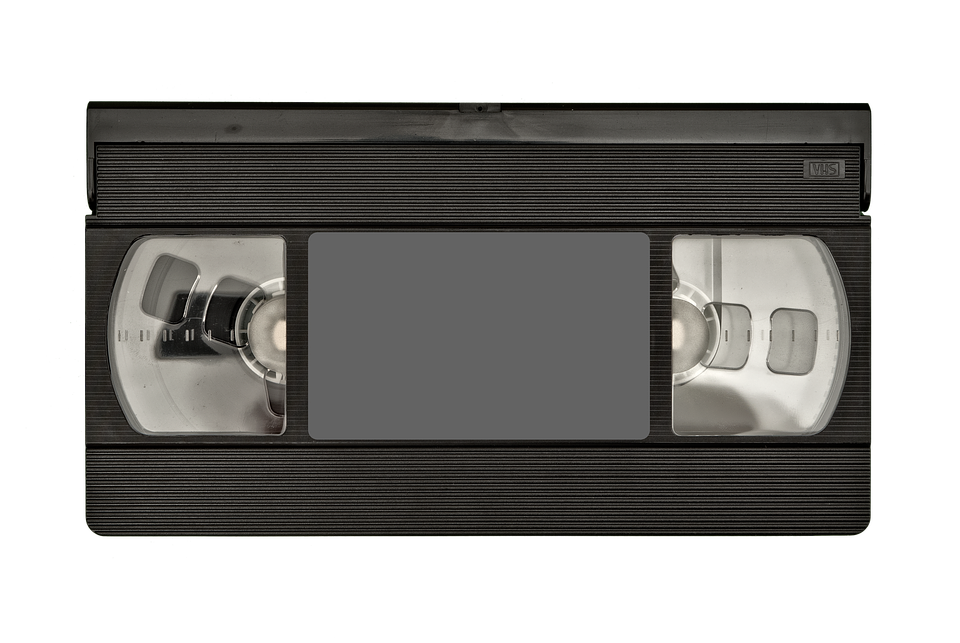 Vhs, Tape, Front, Old, Information, White, Background - Vhs Tape PNG