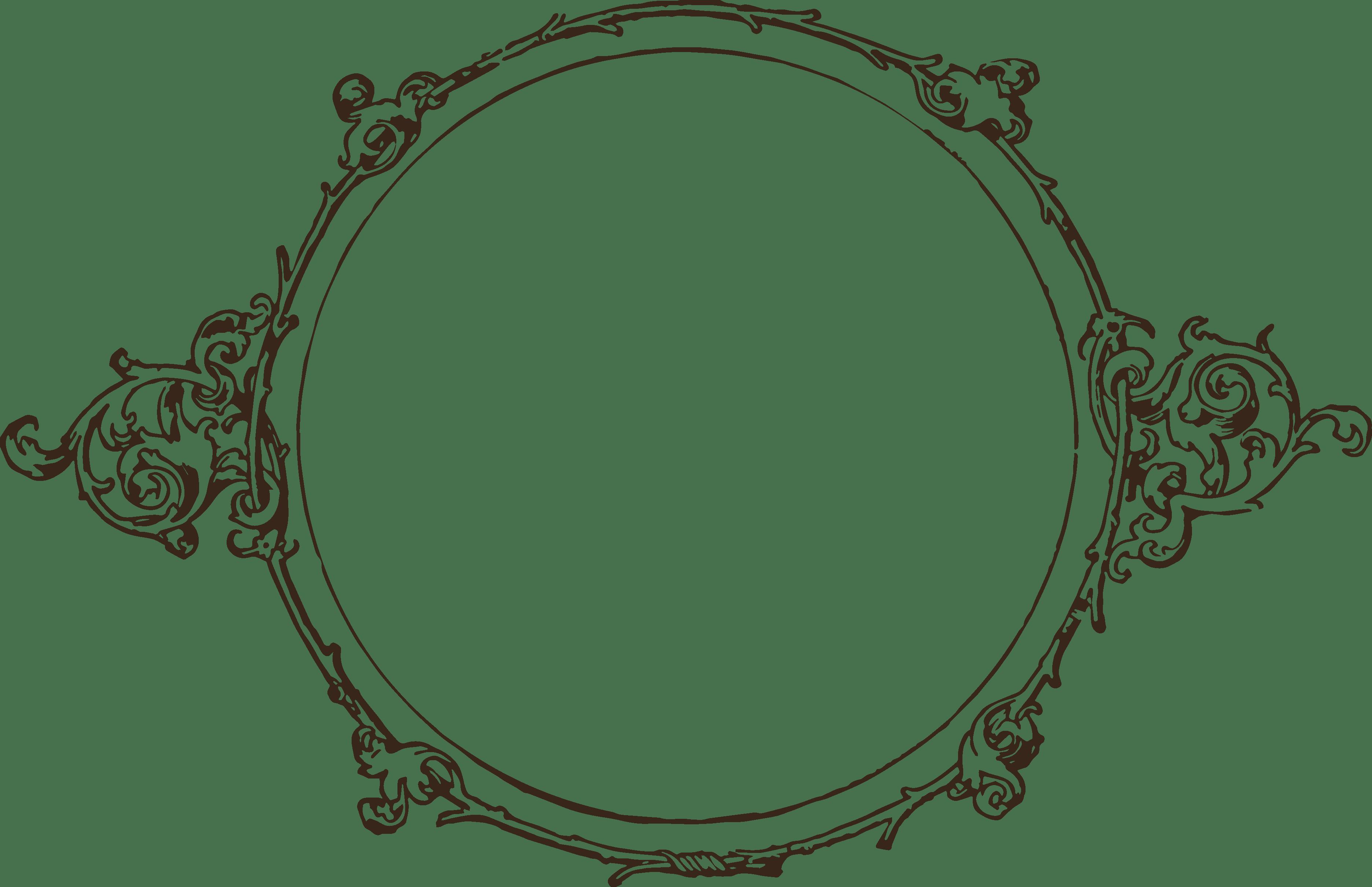 Victorian Frame PNG - 54444