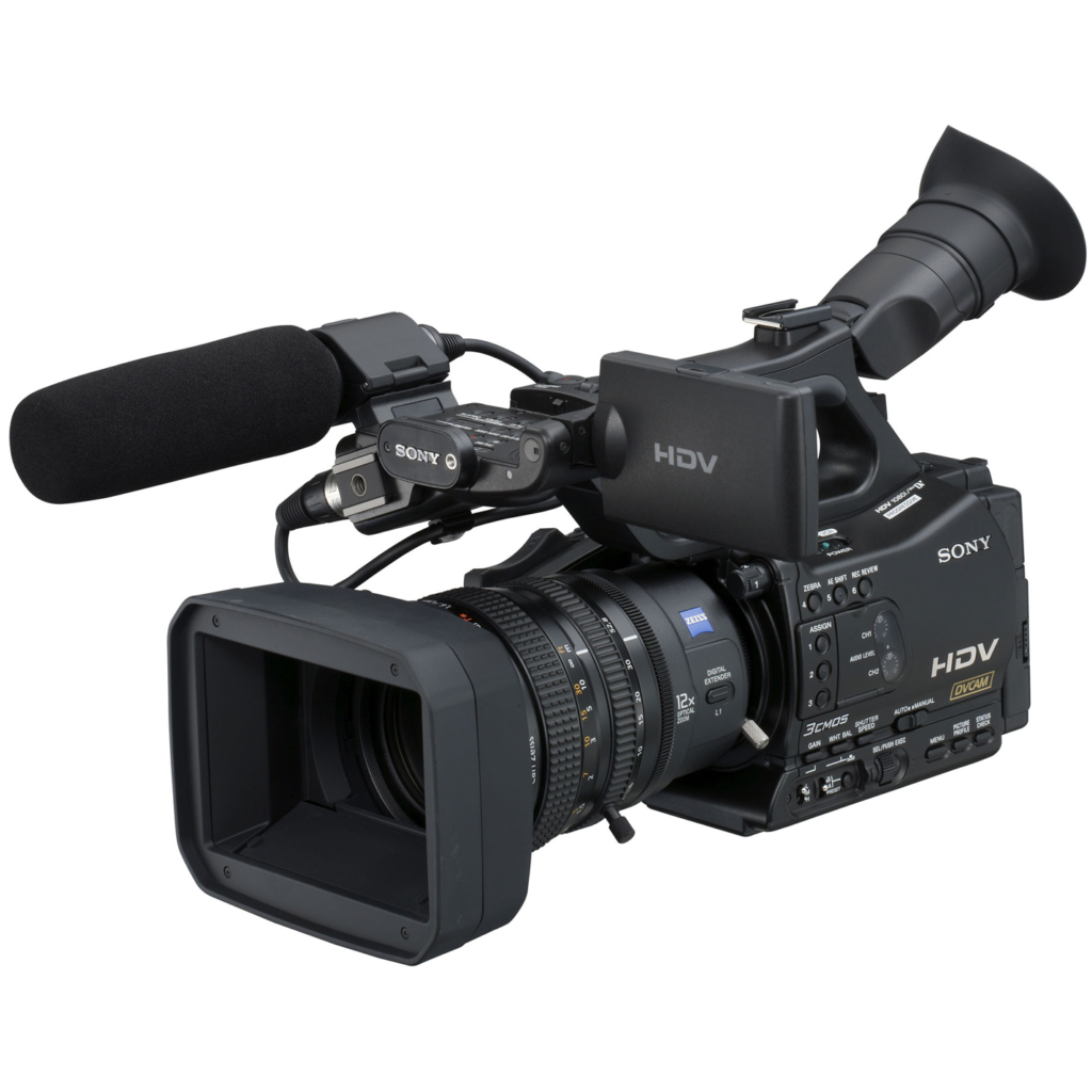 Sony HVR Z7U u2013 HD Video Camera - Video Recorder PNG