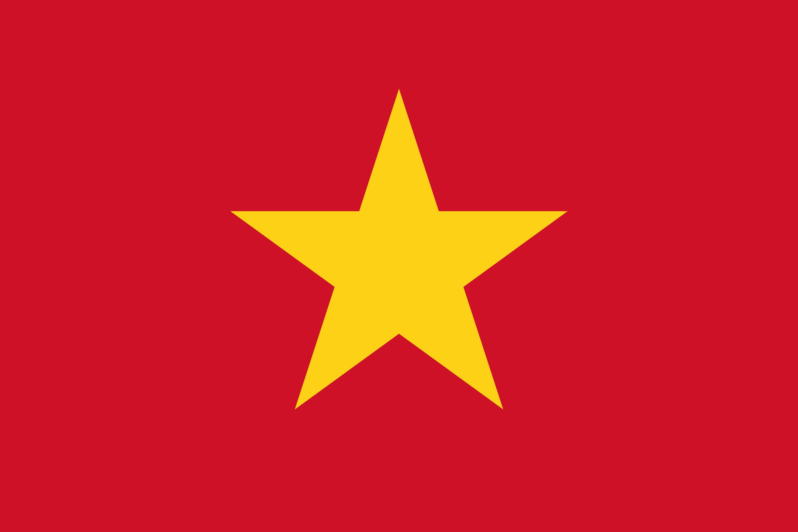 Download a flag or use it on websites - Vietnam PNG