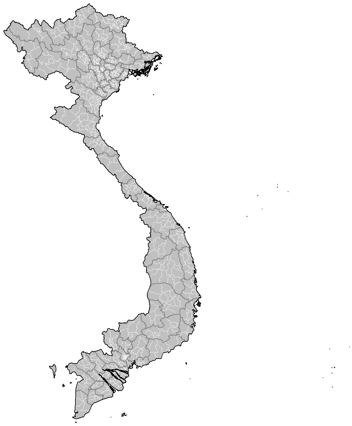 File:Vietnam districts.png - Vietnam PNG