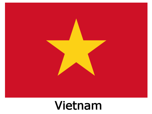 Flag of Vietnam.png - Vietnam PNG
