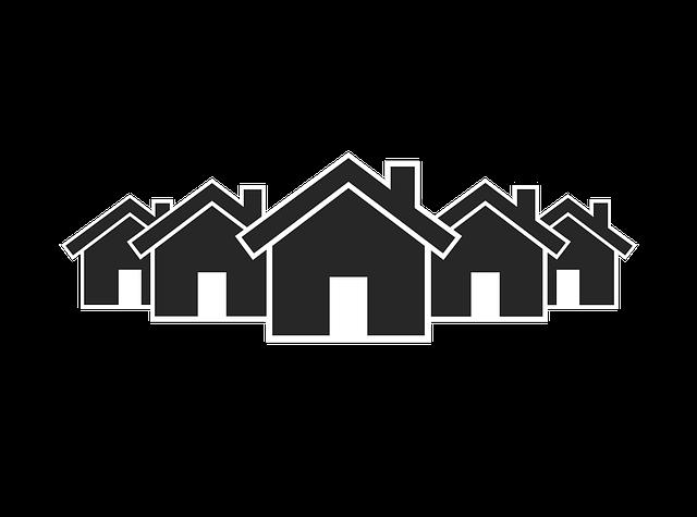 Free illustration: Village Icon, Icon, Village - Free Image on Pixabay -  1001598 - Village PNG Black And White