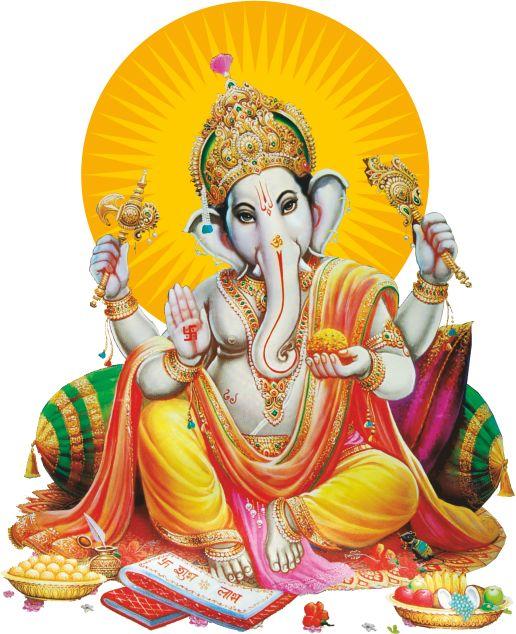 Vinayaka Vigneshvara God Clip Art free Downloads - Sri Ganesh PNG
