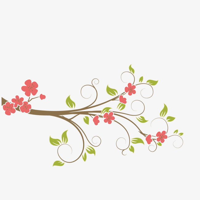 vector plant vine branches, European Branches, Tree Twigs, Vines Decorated  PNG and Vector - Vine And Branches PNG