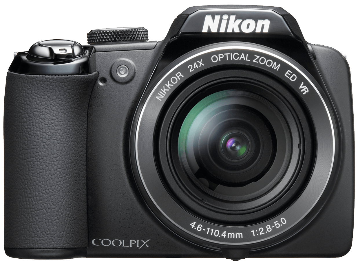 Nikon Coolpix Photo Camera - Vintage Camera PNG Nikon