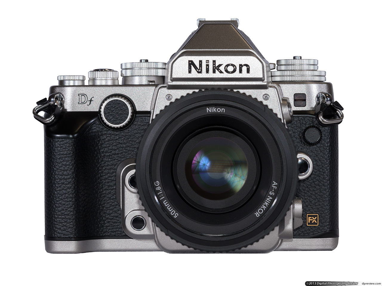 Nikon Df Review - Vintage Camera PNG Nikon