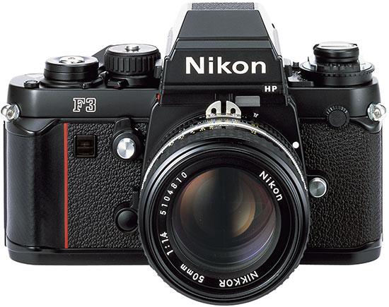 Nikon-F3-film-camera - Vintage Camera PNG Nikon