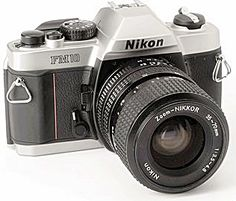 nikon-fm10-single-lens-reflex-manual-camera.png - Vintage Camera PNG Nikon