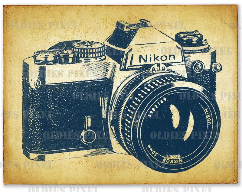 - Vintage Camera PNG Nikon