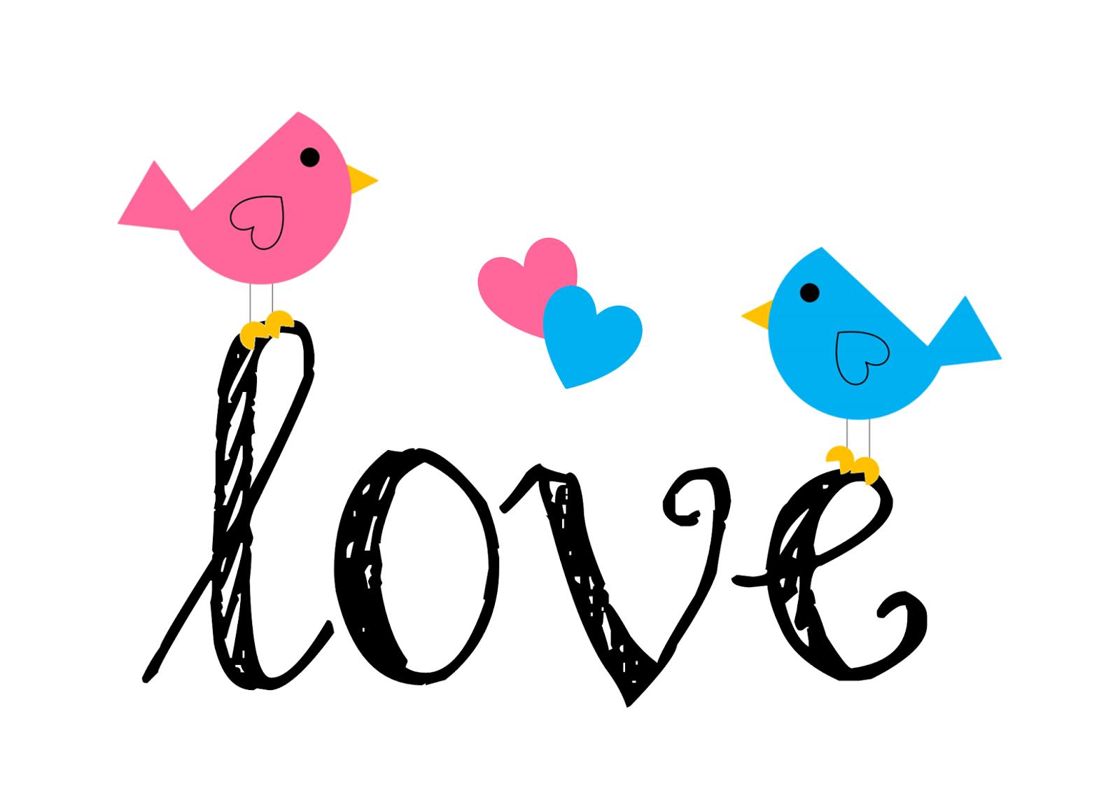 Vintage Love Birds PNG - 156544