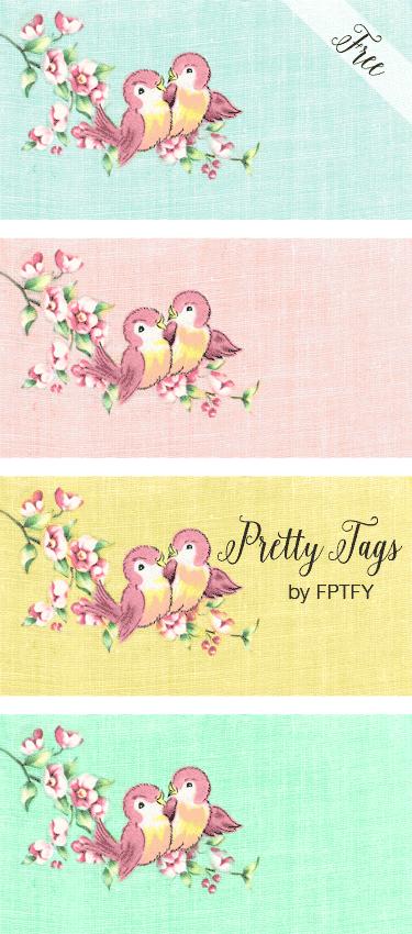 Vintage Love Birds PNG - 156547