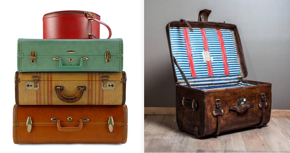Vintage Luggage PNG - 44159