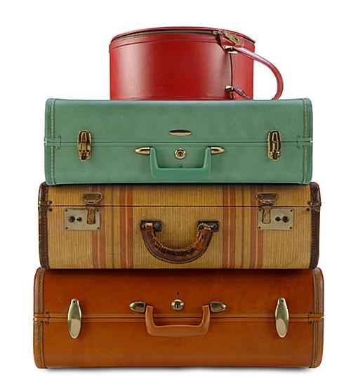 Vintage Luggage PNG - 44161