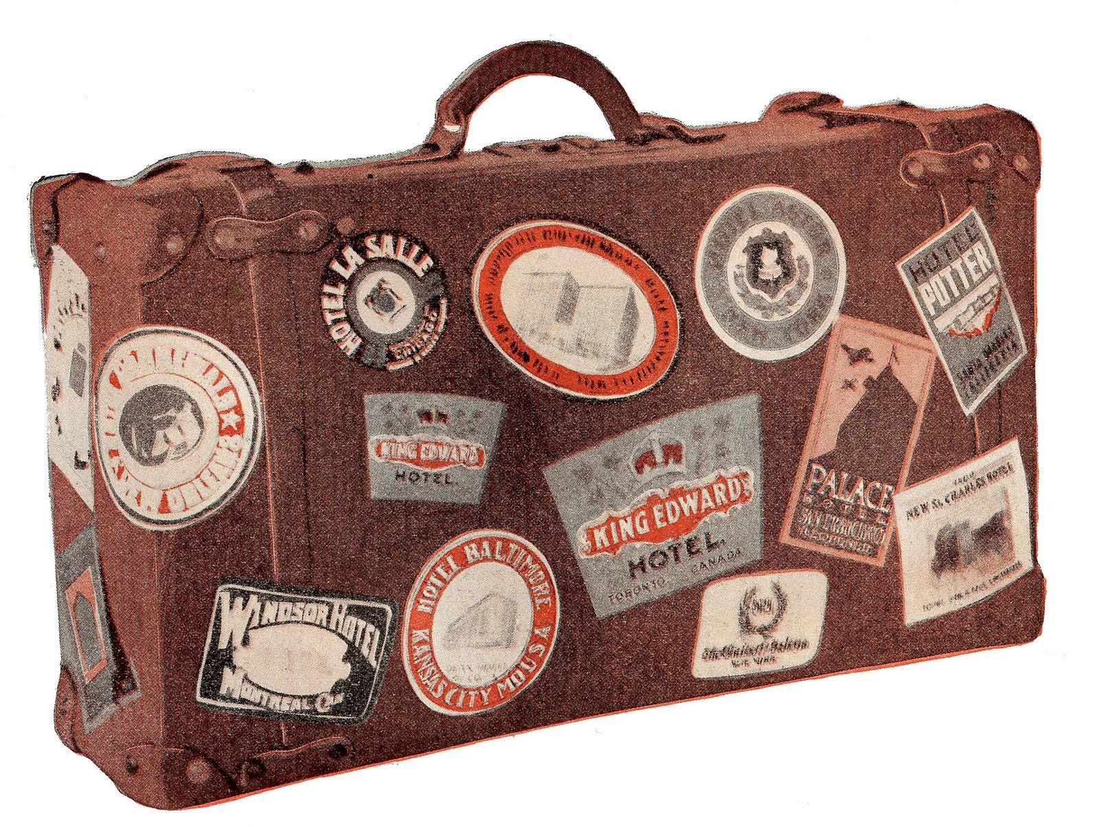 Vintage Luggage PNG - 44157
