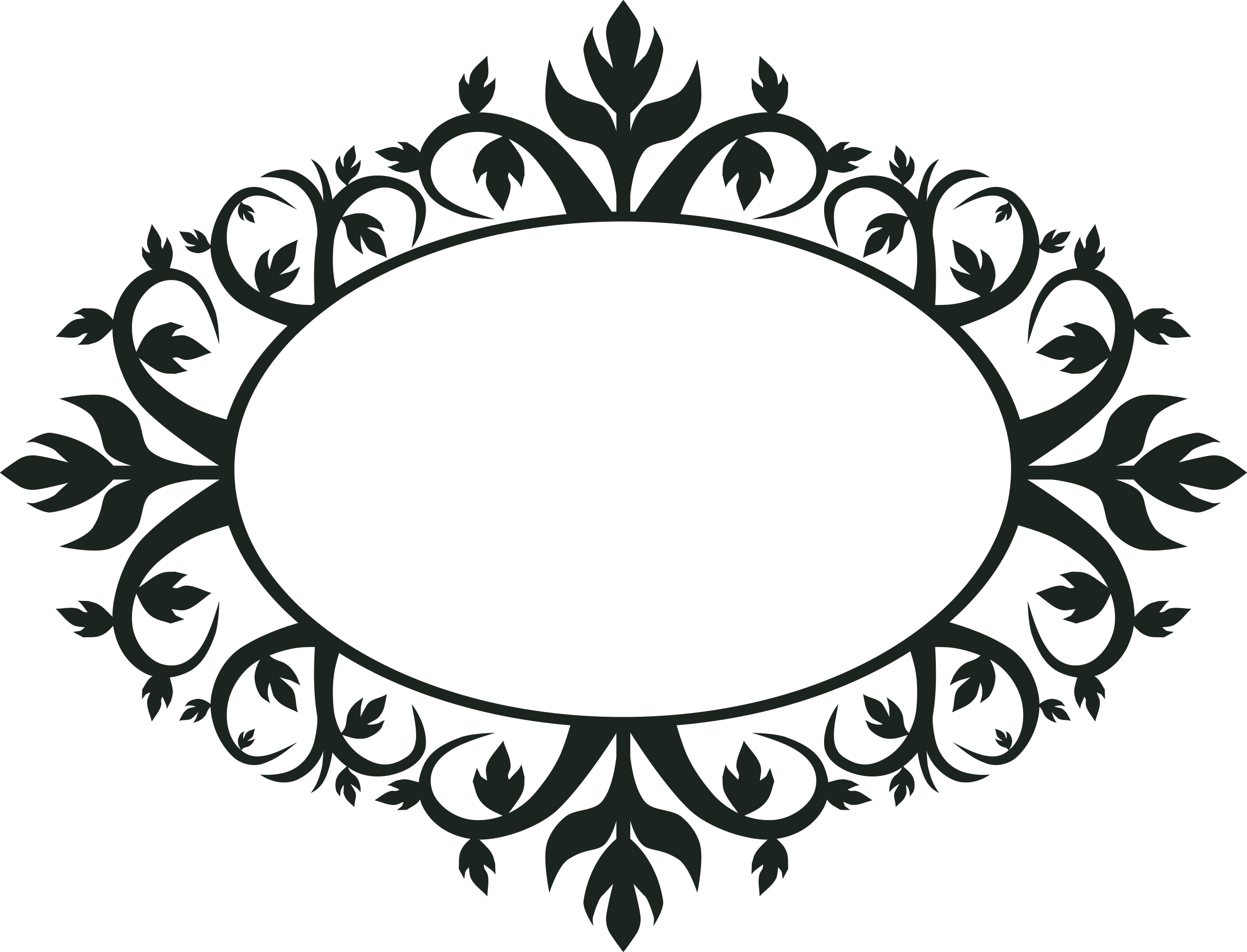 Vintage Oval Frame PNG - 73187