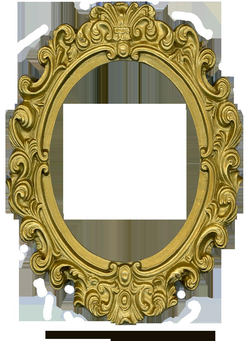 Vintage Oval Frame PNG - 73193
