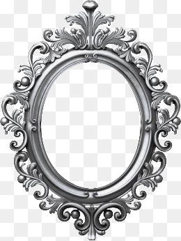 Oval frame, Iron, Frame, Vintage Floral Frame PNG Image - Vintage Oval Frame PNG