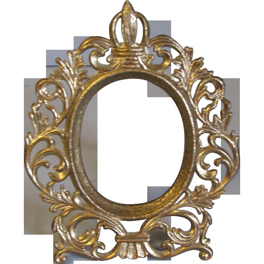 Vintage Oval Frame PNG - 73183