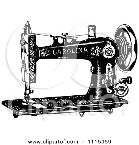 Vintage Sewing Machine PNG HD - 122568