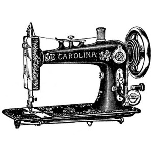 Vintage Sewing Machine PNG HD - 122565