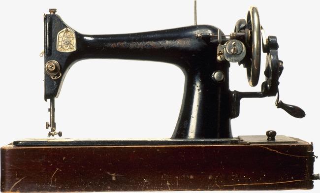 Vintage Sewing Machine PNG HD - 122569
