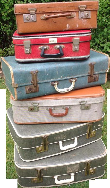 Vintage Suitcase PNG-PlusPNG.com-453 - Vintage Suitcase PNG