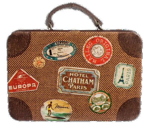 metal vintage suitcase - Vintage Suitcase PNG