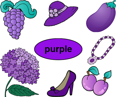Objects That Can be Purple - Violet Objects PNG