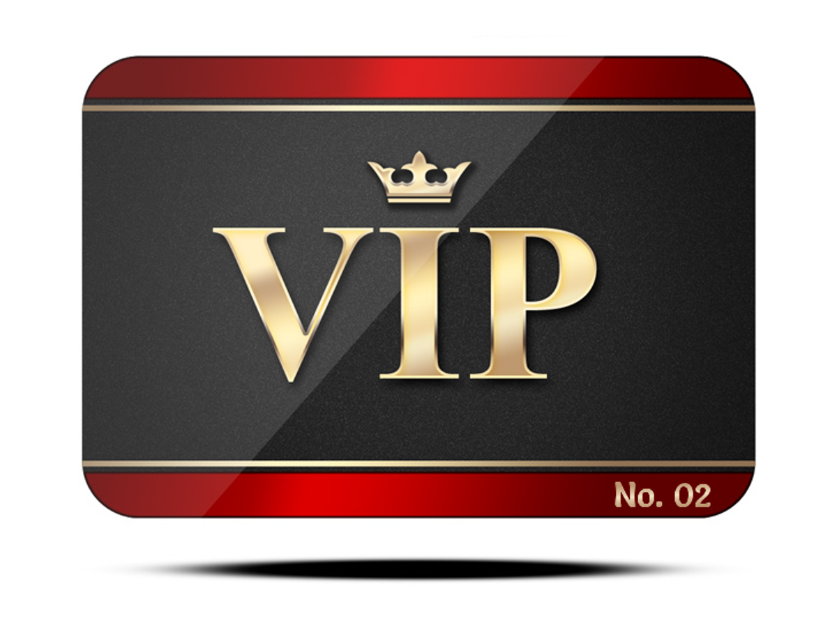 Vip Ticket PNG - 54509