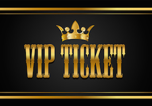 Vip Ticket PNG - 54516