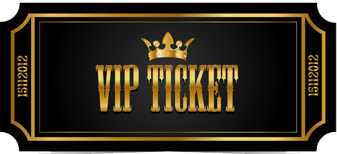 Vip Ticket PNG Transparent Vip Ticket PNG Images  | PlusPNG