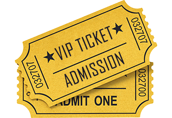 Vip Ticket PNG - 54508