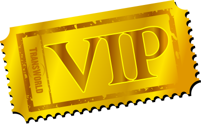 Vip Ticket PNG - 54507